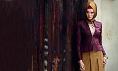 Alvina Tesettür Giyim Abiye Elbise Modelleri 2014