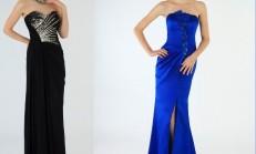 2014 Yeni Straplez Abiye Elbise Modelleri