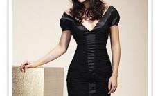 2014 Siyah  Elbise Modelleri