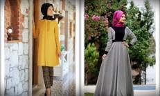 Minel Aşk 2015 Tesettür Abiye Elbise Modelleri