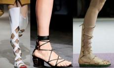 İlkbahar Yaz Ayakkabı Tredi