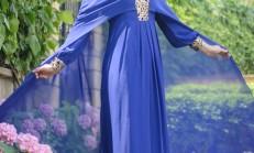 Pelerin Detaylı Abiye Elbise Modelleri