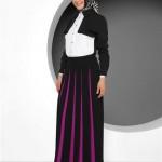 tekbir erguvan etek dal bluz 150x150 Tekbir Tesettür Giyim Abiye ve Elbise Modelleri 2014
