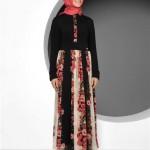 tekbir gul elbise 150x150 Tekbir Tesettür Giyim Abiye ve Elbise Modelleri 2014