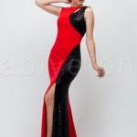 FO,2257,42,cift-renk-pullu-kirmizi-uzun-abiye-elbise-o3306-hanim-hanimcik