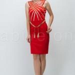 FO256141beli kemerli altin seritli kirmizi kisa abiye elbise o6768 hanim hanimcik 150x150 Hanım Hanımcık Abiye Elbise Modelleri 2014