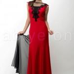 FO410349ustu gupurlu sirt dekolteli kirmizi uzun abiye elbise m1364 hanim hanimcik 150x150 Hanım Hanımcık Abiye Elbise Modelleri 2014