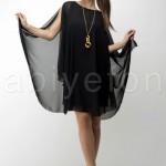 FO421951sifon salas kisa siyah elbise n96670 hanim hanimcik 150x150 Hanım Hanımcık Abiye Elbise Modelleri 2014