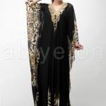 FO426541leopar desenli yakasi tasli uzun abiye elbise o6736 hanim hanimcik 150x150 Hanım Hanımcık Abiye Elbise Modelleri 2014