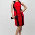 FO436147kirmizi kolsuz pullu kisa abiye elbise o3420 hanim hanimcik 150x150 Hanım Hanımcık Abiye Elbise Modelleri 2014