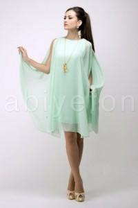 FO443251sifon kolsuz mint kisa elbise t1616 hanim hanimcik 200x300 Hanım Hanımcık Abiye Elbise Modelleri 2014