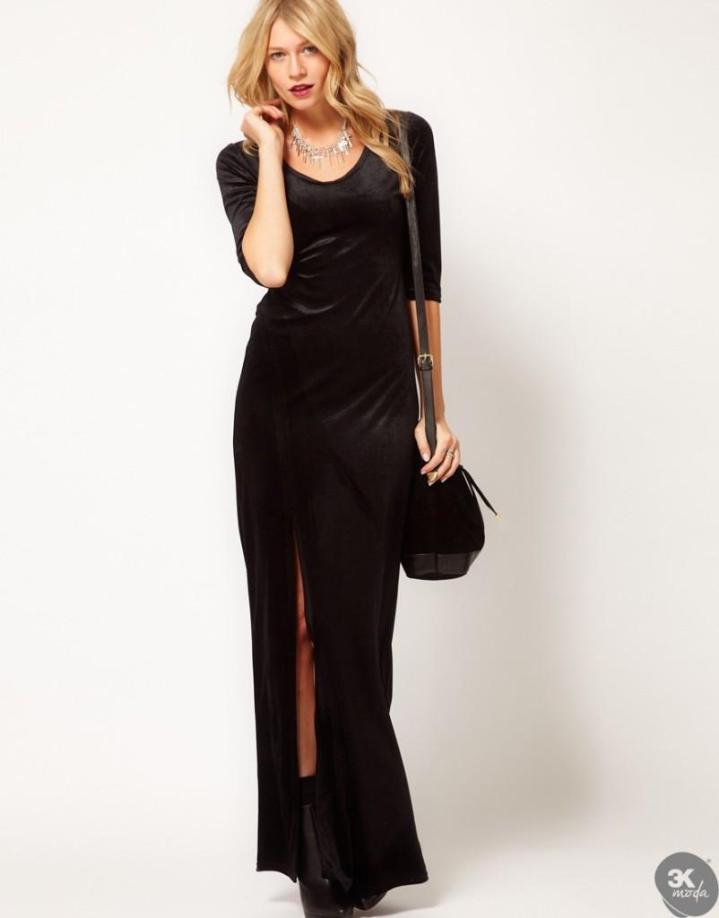 Kadife Elbise Modelleri 03 Kadife Elbise Modelleri 2014