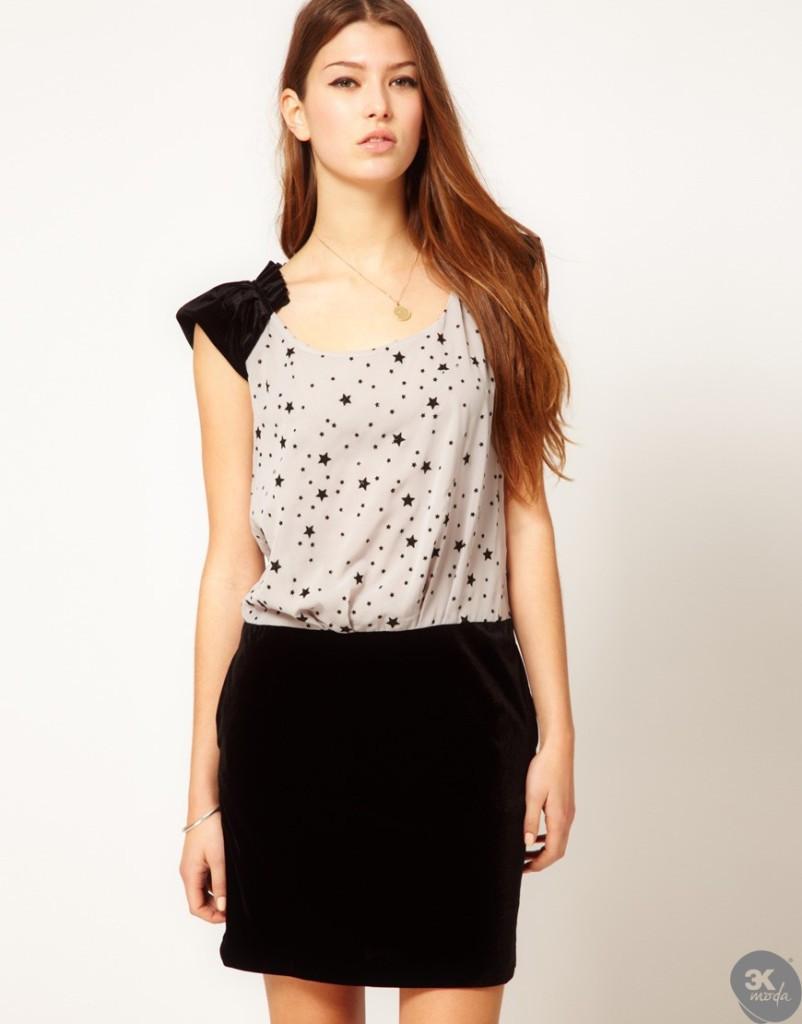 Kadife Elbise Modelleri 19