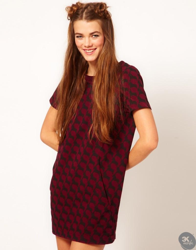 Kadife Elbise Modelleri 22