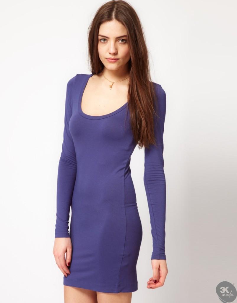 Kadife Elbise Modelleri 24