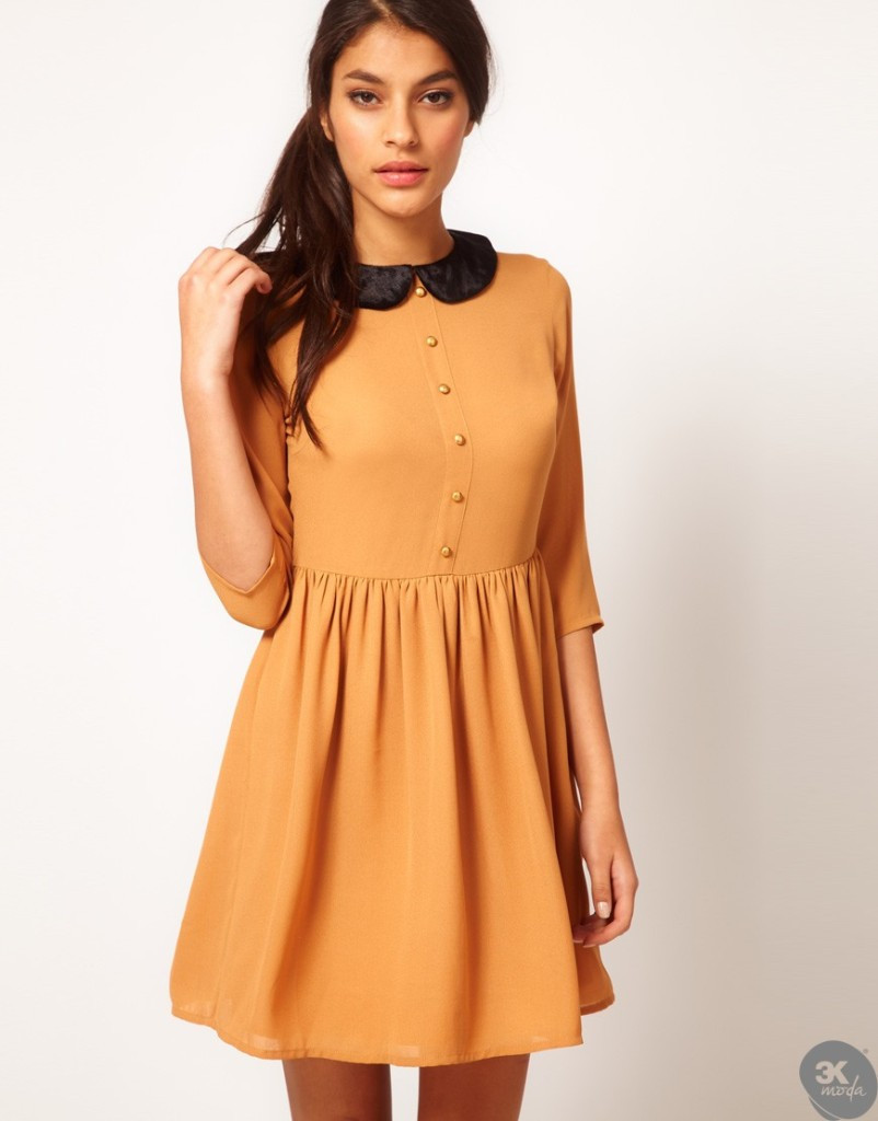 Kadife Elbise Modelleri 27