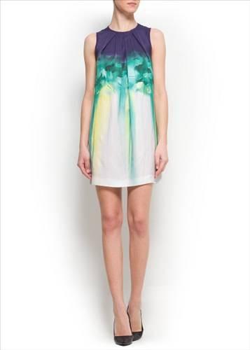 mango 12 Mango Elbise Modelleri 2014