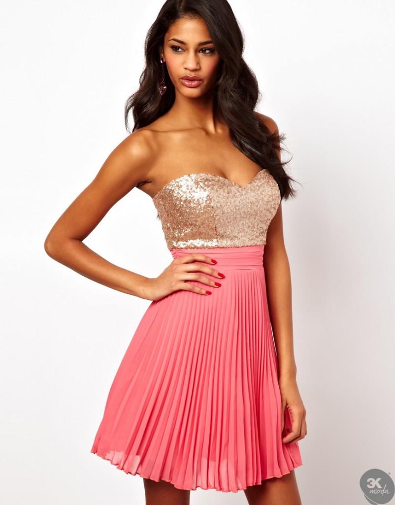payetli elbise modelleri 13