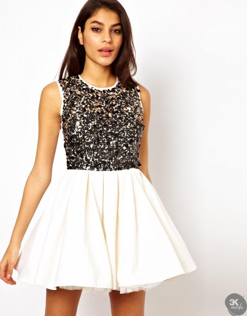 payetli elbise modelleri 16