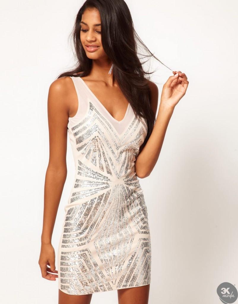 payetli elbise modelleri 27