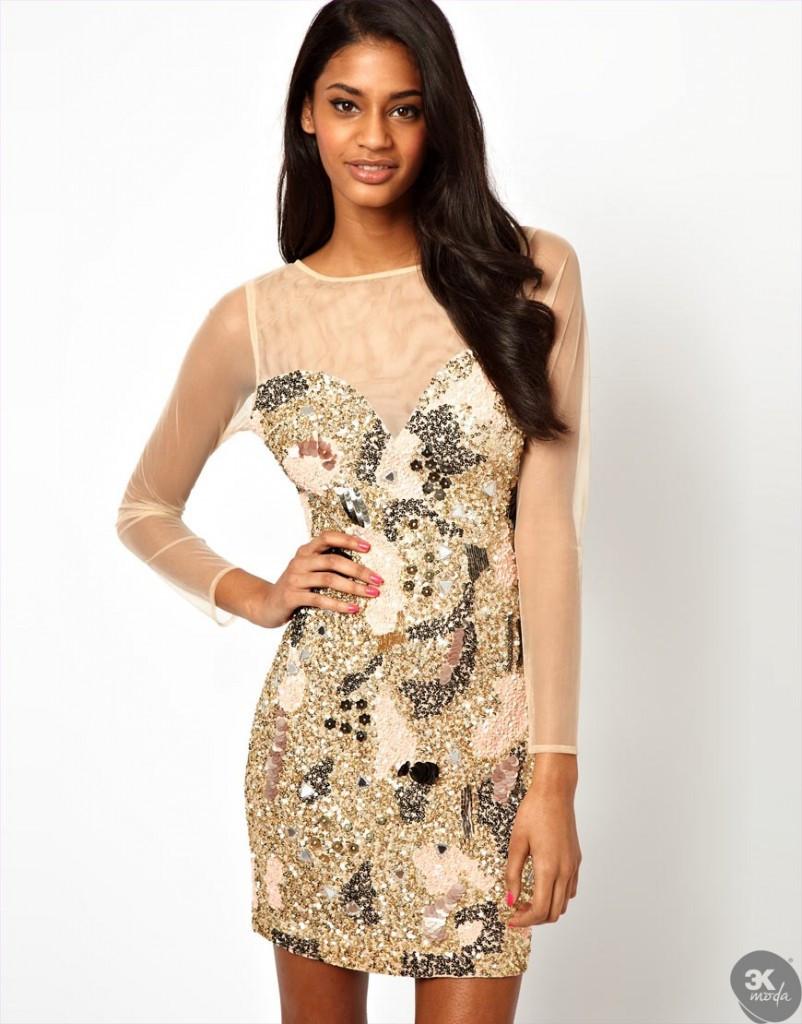 payetli elbise modelleri 28